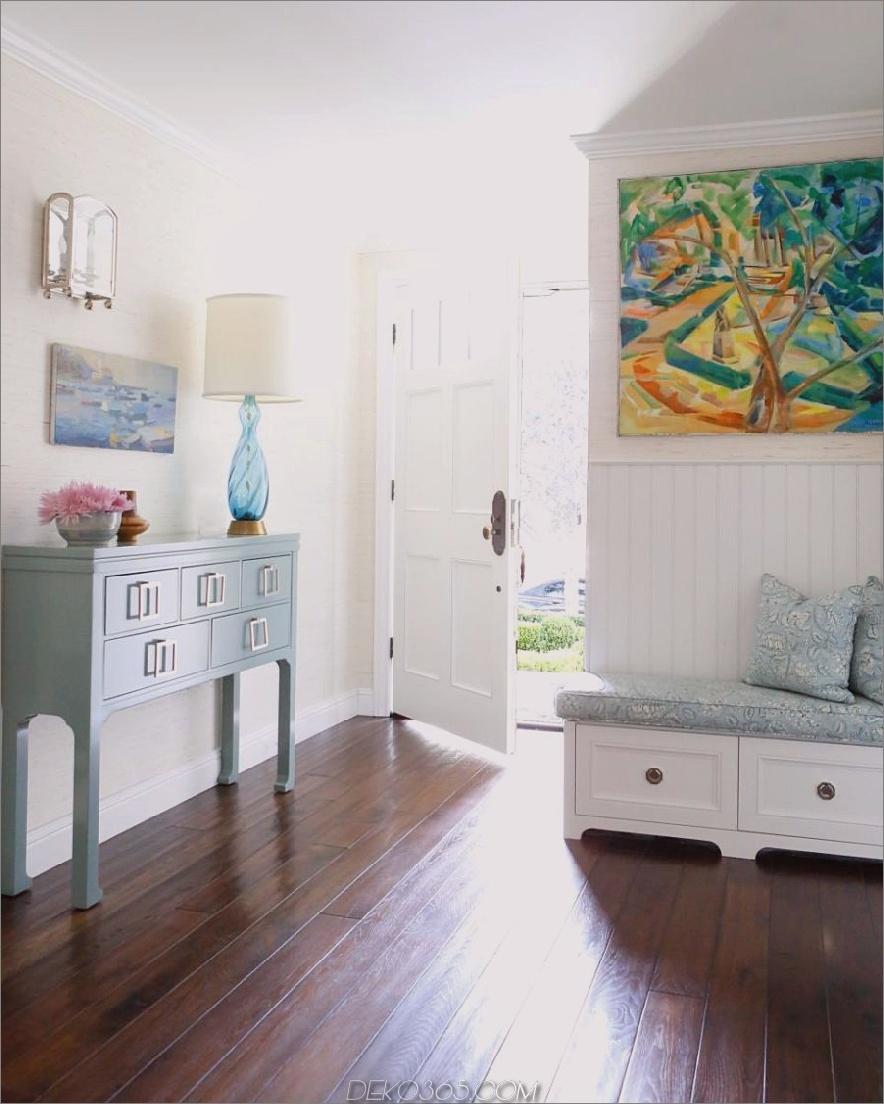 Chic Cottage Flur Design von Lara Fishman