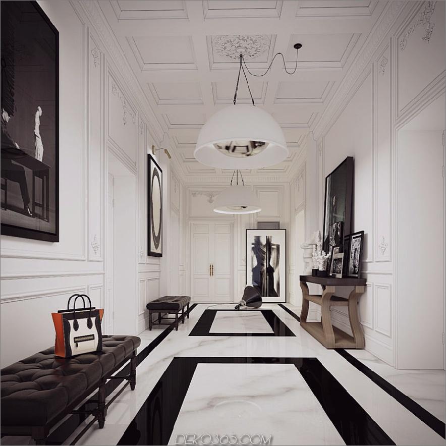 Paris Wohnung von Ando Studio