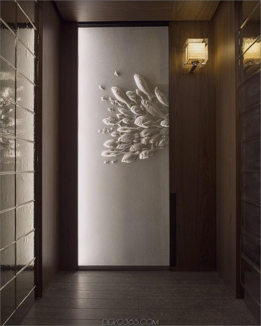 Washi-Papierarbeiten von Tetsuya Nagata in Andaz Tokyo