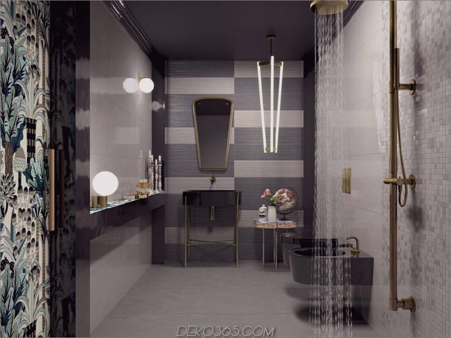 Stilvolle Tow getonte Arbeitsfliesen von Ceramiche Marca Corona 900x675 Diese modernen Badezimmerfliesen-Designs inspirieren die widerstrebenden Remodelers