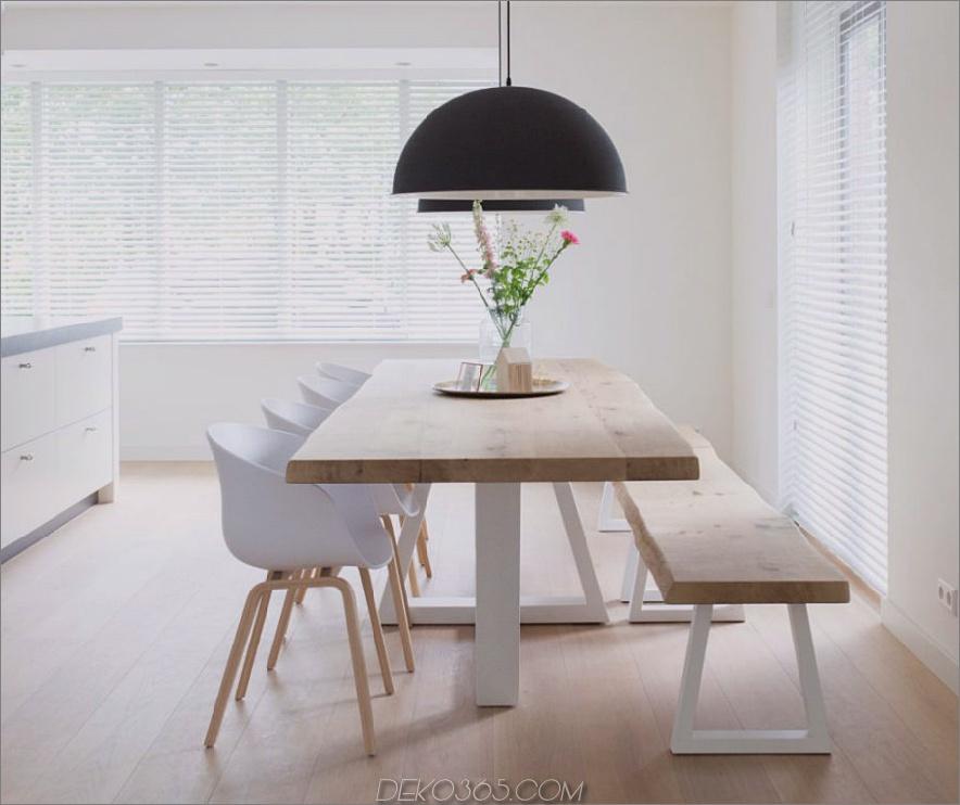 Einfache Holzbank 900x755 Diese modernen Esszimmerstühle sind kühler als ikonische Stühle