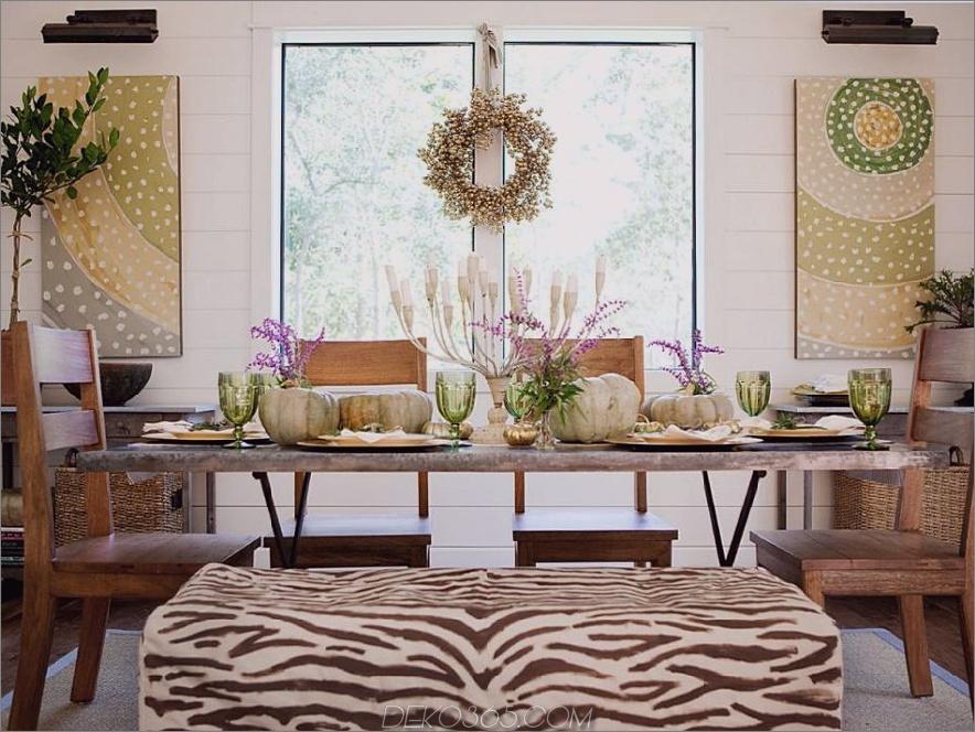 Esszimmersitz gekleidet in den Zebrastreifen