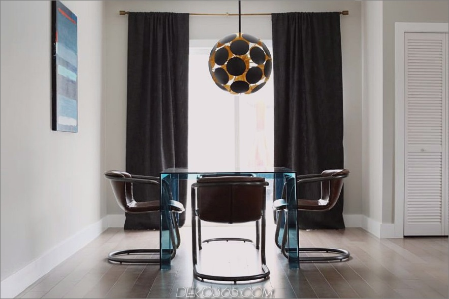 Moderner Essbereich Caitlin McCarthy Design