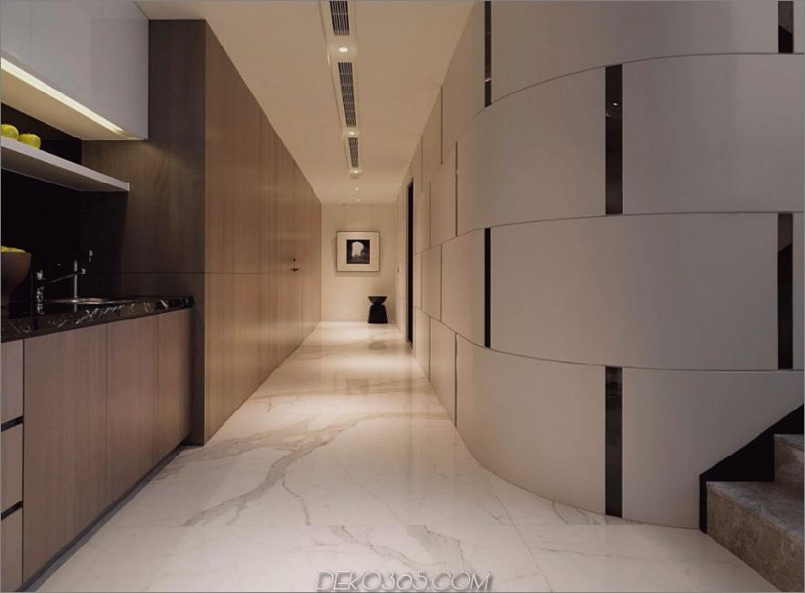 Cooler Übergang zwischen den Räumen