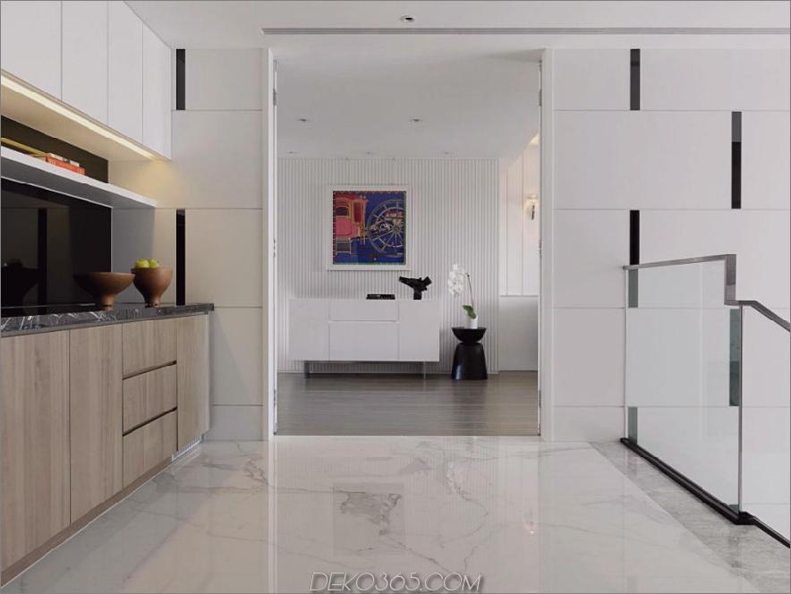 Seltene Wandbehänge verleihen dem Innenraum Dynamik