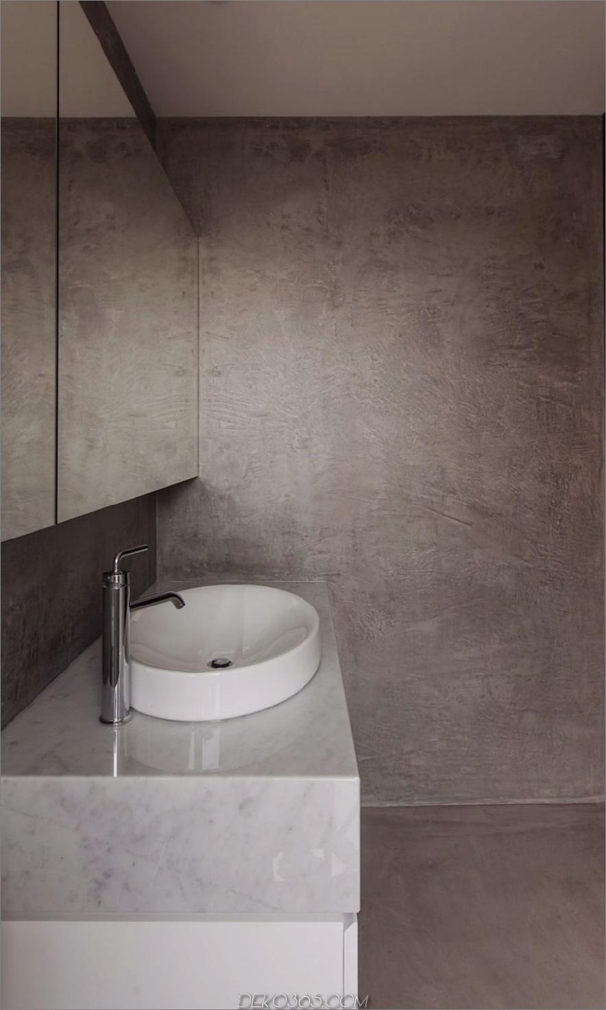 Badezimmer aus Beton