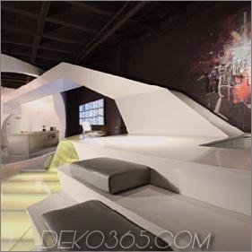 Ultramoderne Loft-Idee in LA - ein luxuriöses Loft mit einer mütterlichen Architektur