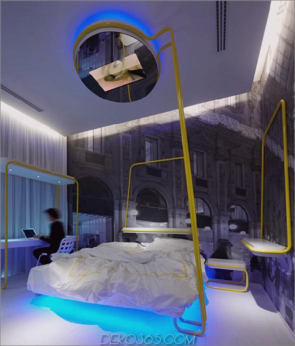 dramatische Beleuchtung Schlafzimmer Interieur 3 Dramatische Schlafzimmer Designs von Simone Micheli