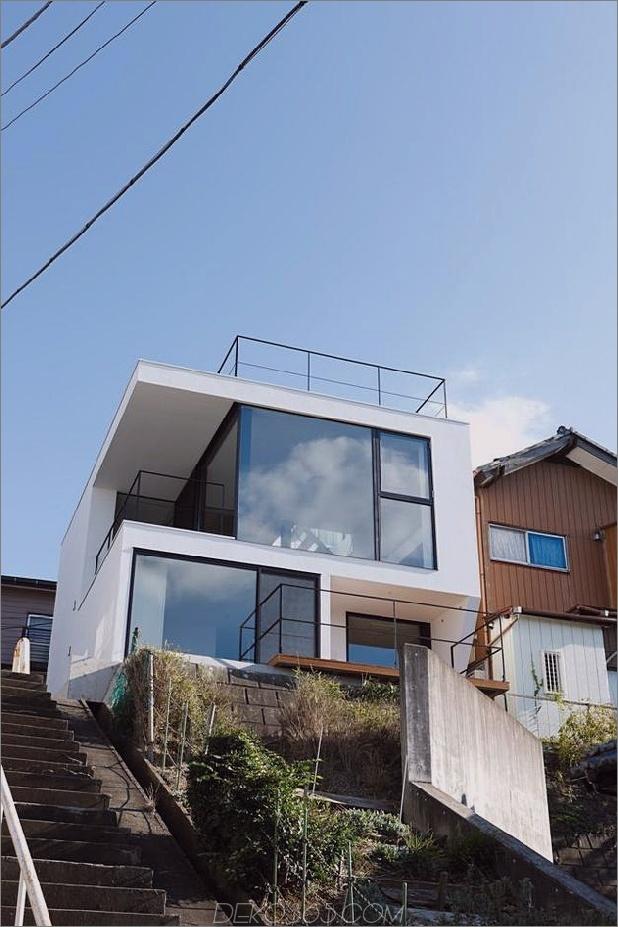 dreistöckiges tokyo-haus mit panoramablick auf die stadt 1 von unten tag thumb 630x945 25458 Dreistöckiges Tokyo-Haus mit Panoramablick auf die Stadt