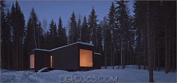 kühles finnland-kabine im eco-chic-design 1 Eco-Chic-Home-Design: Amazing Finland Cabin!