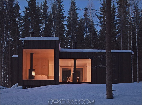 kühles finnland-kabine im eco-chic-design 2 Eco-Chic-Home-Design: Amazing Finland Cabin!