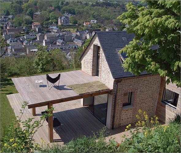 Schutzhaus 5 Eco House Design ist himmlisch, komplett mit Flügeln