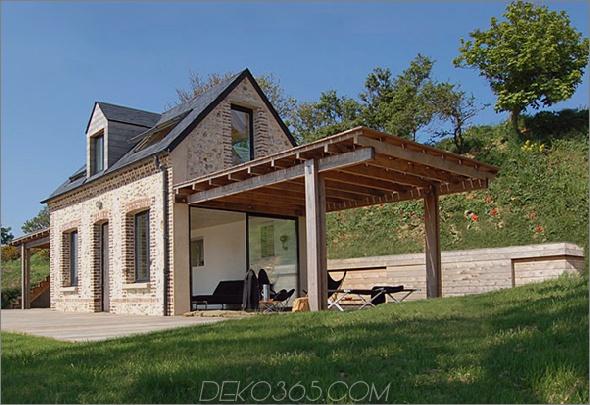 Schutzhaus 1 Eco House Design ist himmlisch, komplett mit Flügeln