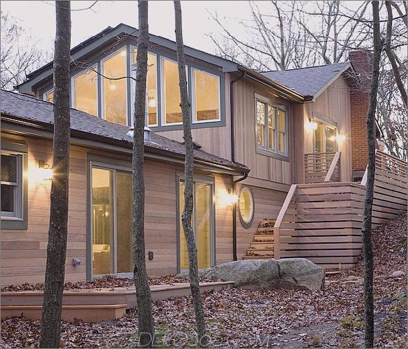 mount elend house 1 Eco Holzhaus bringt Nachhaltigkeit und Luxus in den Wald