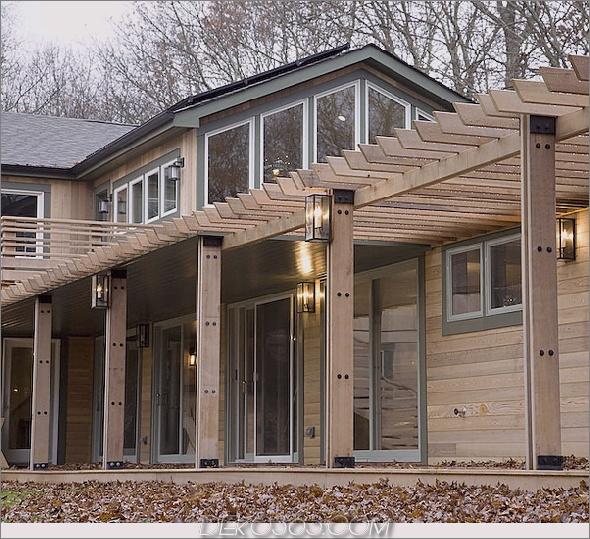 mount elend house 8 Eco Wooden House bringt Nachhaltigkeit und Luxus in den Wald