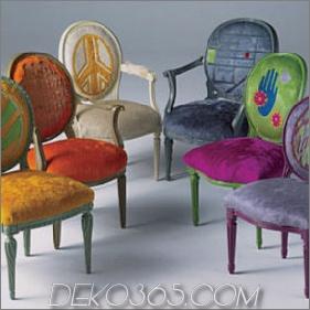 Moderne Kuhfellmöbel - neue Hide Furniture von Kyle Bunting