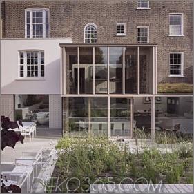 Das alte Londoner Haus erhält einen frischen Glaszusatz