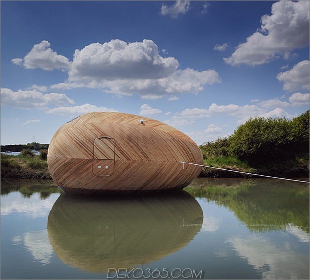 Mobiles Wasserheim minimaler lebender Reflexion Daumen 630x569 15282 Ein bewegliches Wasserhäuschen-Zuhause für ultra minimales Leben