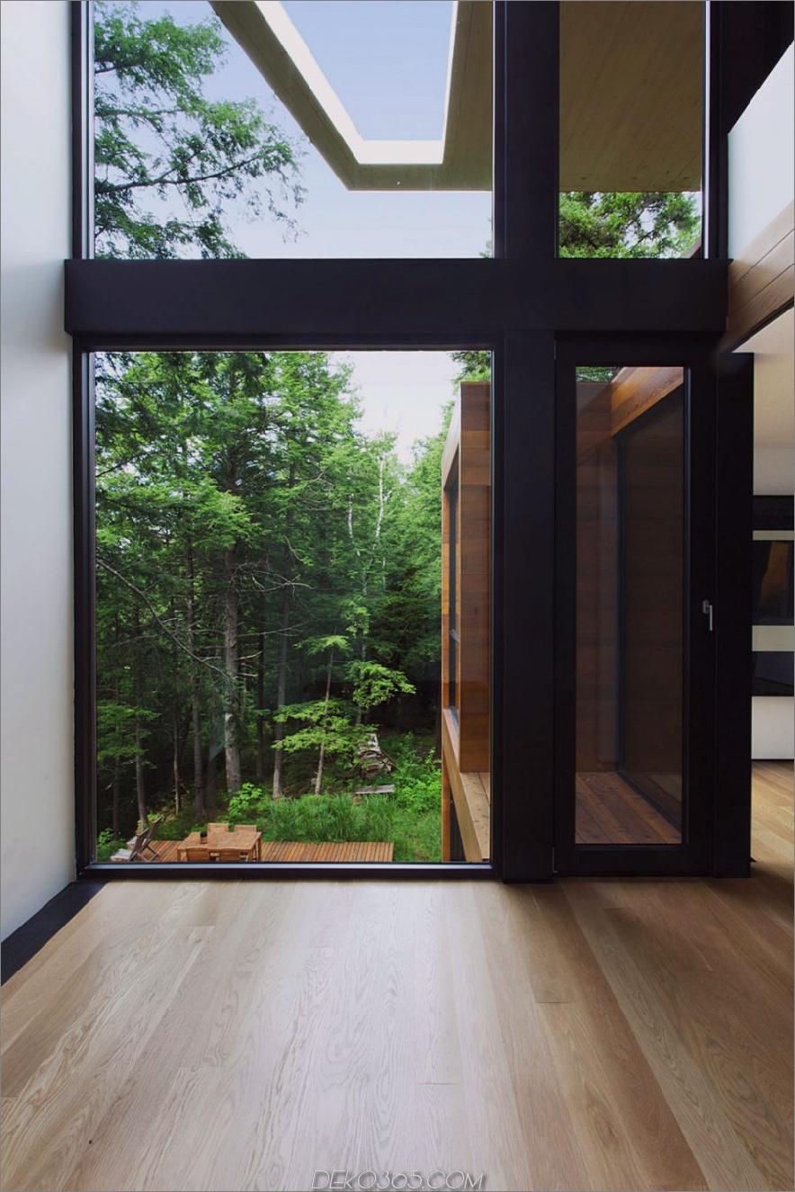 Es bietet einen herrlichen Blick auf den offenen Hof