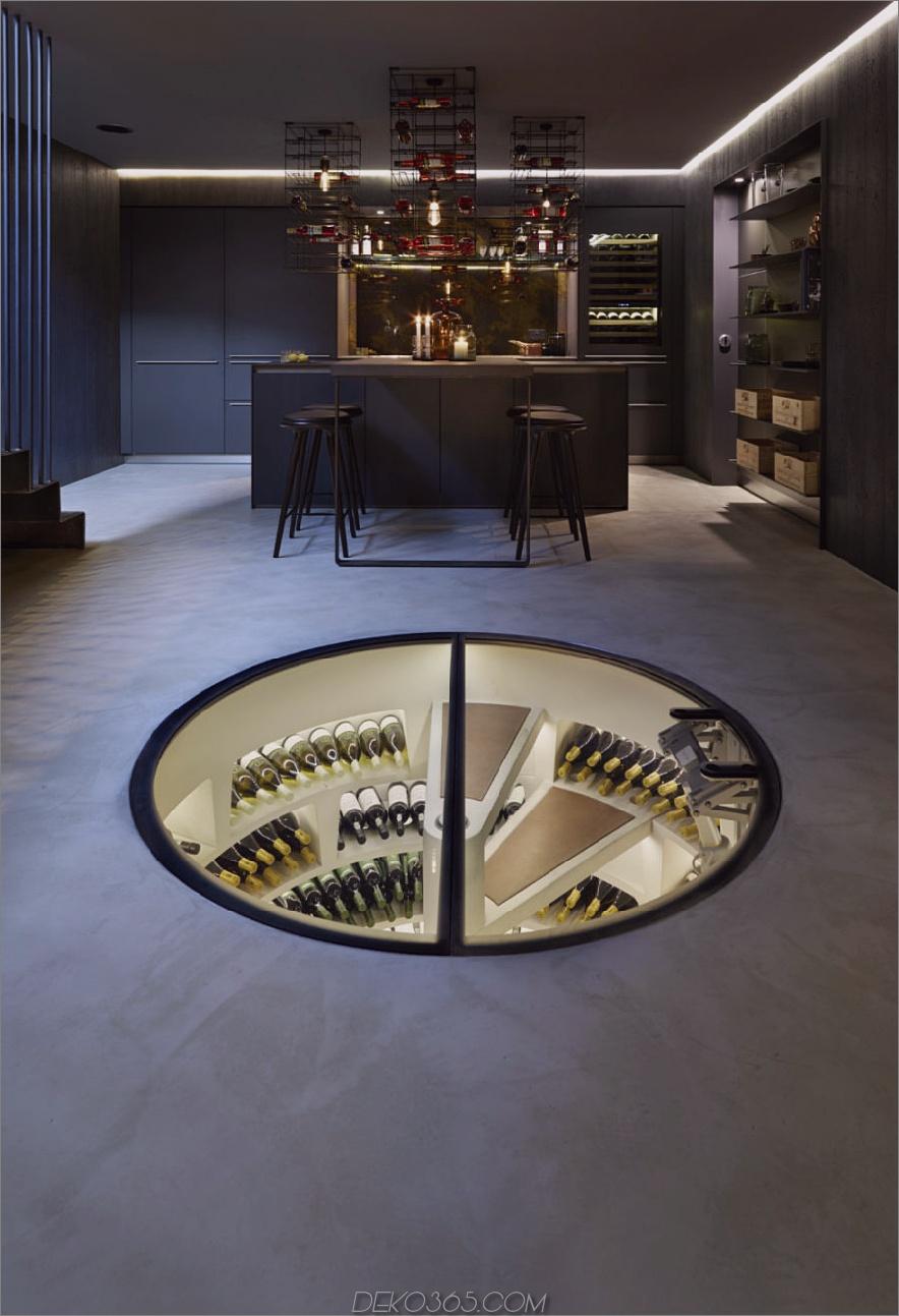 Spiralweinkeller 900x1317 Jeder Traumkenner: Moderne Weinkeller-Designs