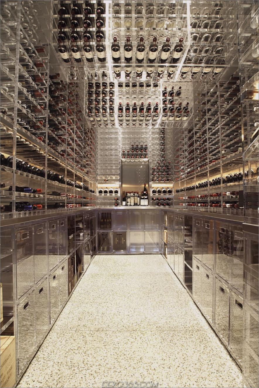 Moderner Weinkeller