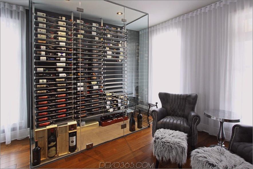 Wohnzimmer Weinkoffer