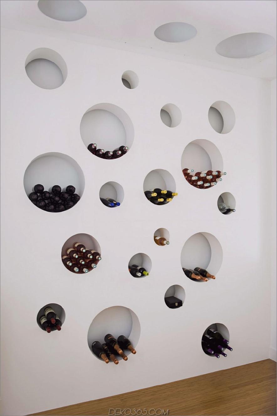 Loft Bordeaux Weinkellerwand