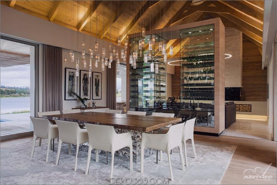 Luxus-Weinmerkmalwand