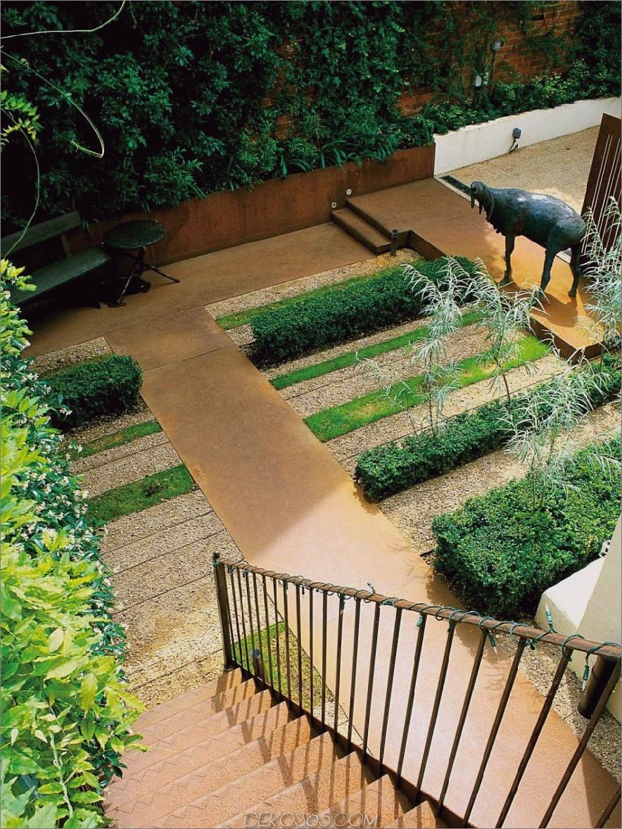 Linearer Garten