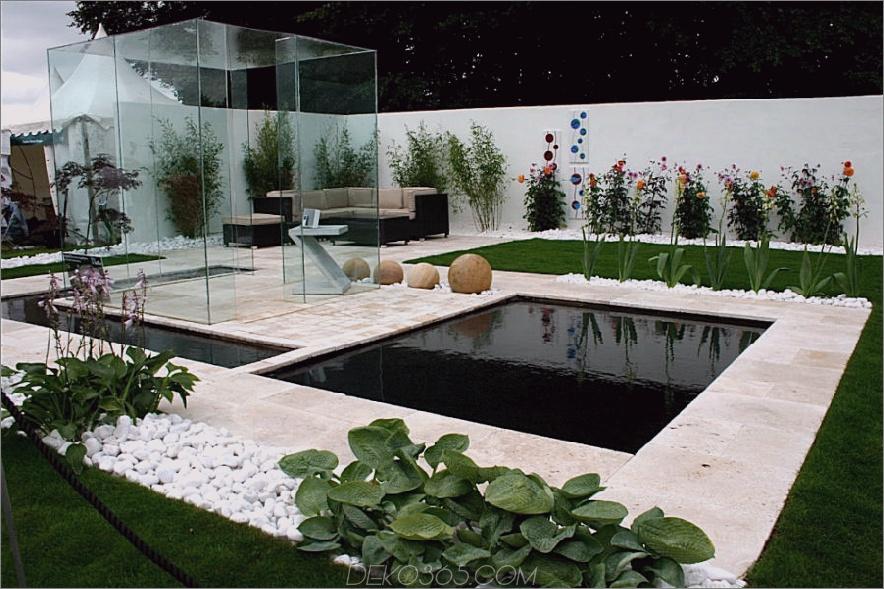Erstaunliche Terrasse
