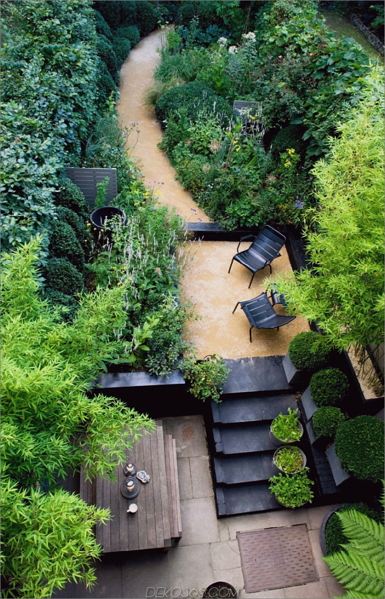 London Garden von Chris Moss