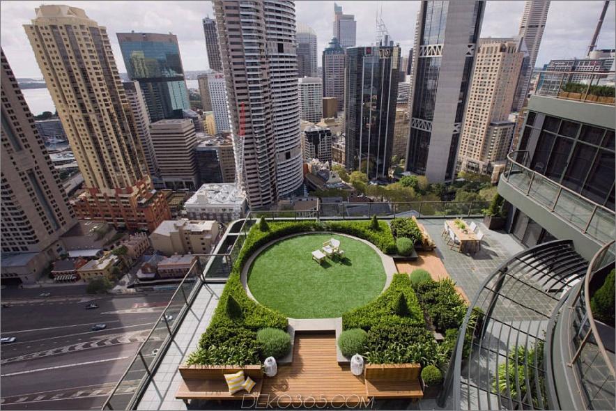 Sydney-Dachgarten-Garten von Secret Gardens