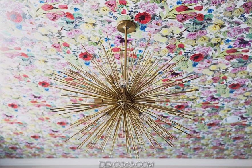 Blumendecke von Abbe Fenimore