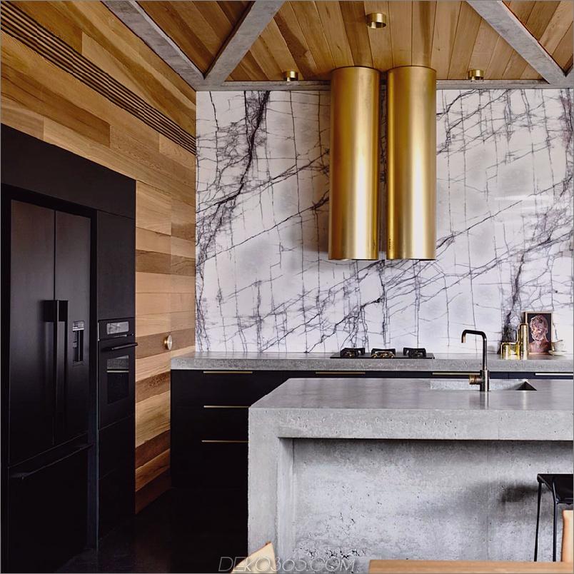 AUHAUS Betonhaus in Australien Einzigartige Küchenelemente zum Entwerfen eines Traums