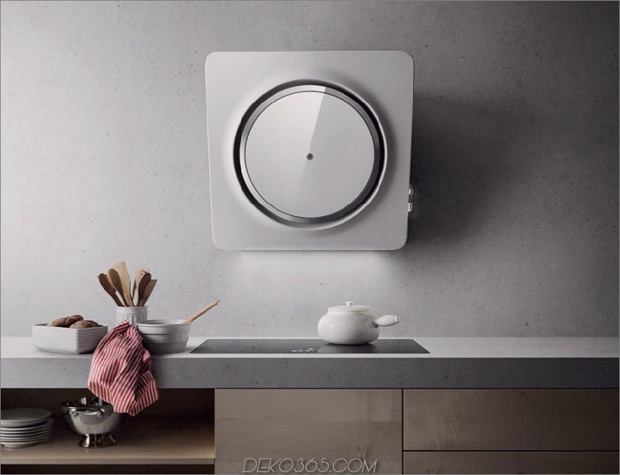 Futuristische Küchenhaube