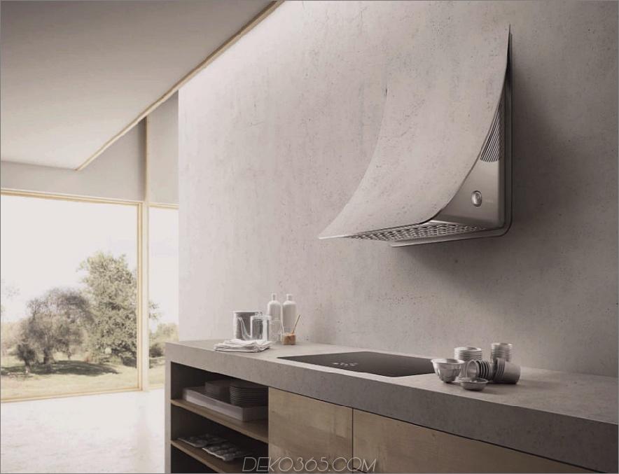 NUAGE Wand-Dunstabzugshaube aus Stahl von Elica