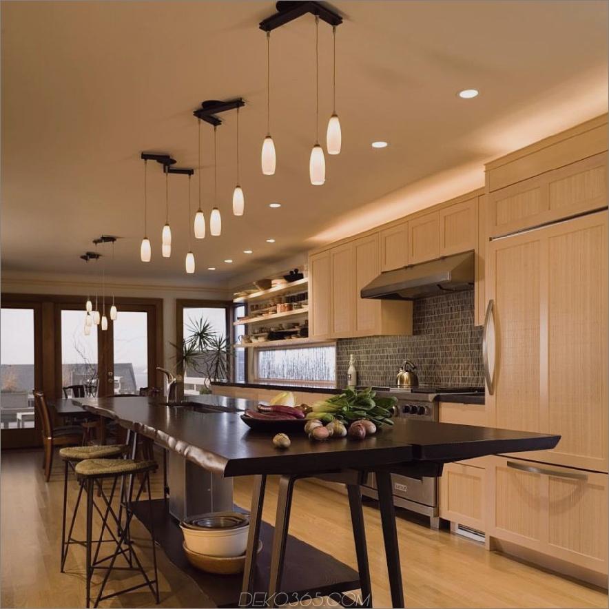 Küche mit Kücheninsel von FINNE Architects