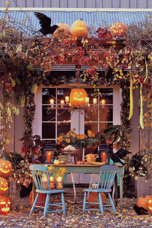 Spooky Enchantment Einzigartige Möglichkeiten, eine gruselige Wendung auf Ihre Veranda zu bringen