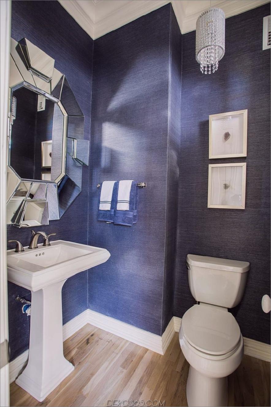 Jeansblauer Puderraum von BeylaBlue Design
