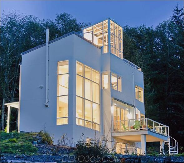 Elegantes Öko-Haus mit Firemans-Pole-Felsen 1 Elegantes Öko-Haus mit Firemans Pole-Felsen!