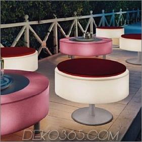 Beleuchtete Möbel - beleuchten Terrassenmöbel von Modoluce