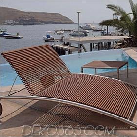 Moderne Gartenmöbel aus Beltempo - zeitgemäßes Design aus Holz und Metall