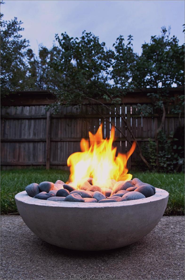 Beton Feuerstelle von Man Made DIY