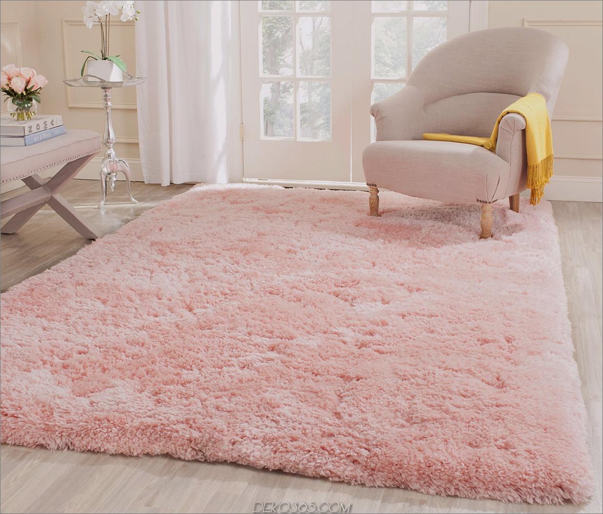blush pink teppich Blush pink Akzente, die die Designwelt komplett übernehmen