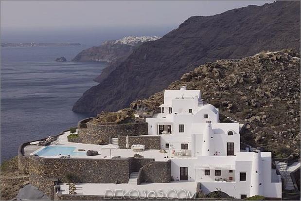 erstaunliche Aussichten Architektur Ort bleiben 2 Seite thumb 630xauto 45542 Erstaunliche kykladische Architektur am Rande der Caldera