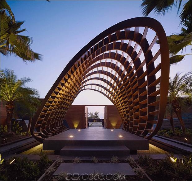 eco friendly kona home hawaiianische handwerkskunst moderne details 1 thumb 630x591 18413 Erstaunliches umweltfreundliches Zuhause mit Infinity-Pool