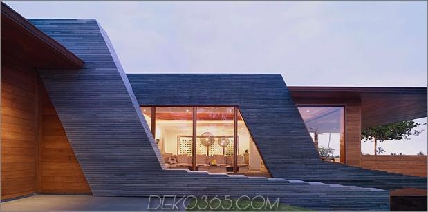umweltfreundliche kona home hawaiianische handwerkskunst moderne details 2 facade thumb 630x312 18415 Erstaunliches umweltfreundliches Zuhause mit Infinity-Pool