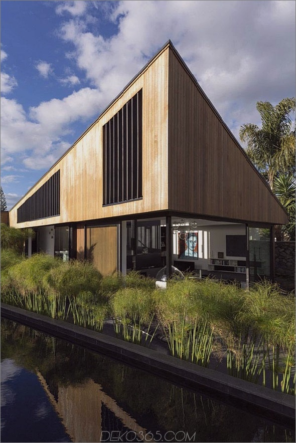 Exotisches S-förmiges Haus in Neuseeland 2 Exotisches S-förmiges Haus in Neuseeland