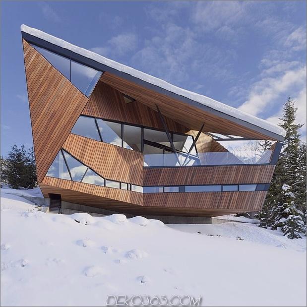1 Facetten-Fußabdruck-Höhenabstand - Höhenbeschränkungen Schneelasten thumb 630xauto 64630 Facettierte Fassade für Gebäudecodes und Schneelasten