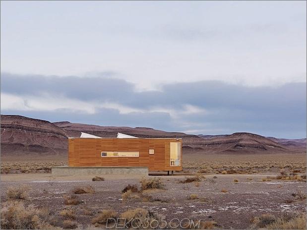 Isoliertes Wüstenfluchthaus mit versenkbarem Deckdeckel 2 dünnes Fenster seitlicher Daumen 630xauto 31753 Fertiges Wüstenfluchthaus mit einziehbarem Deckdeck